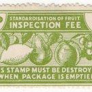 (I.B) New Zealand Revenue : Fruit Inspection 1d