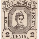 (I.B) US Local Post : Little Wanderers 2c