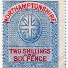 (I.B) Northamptonshire Revenue : Court Fees 2/6d