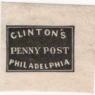 (I.B) US Local Post : Clinton's Penny Post
