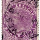 (I.B) New Zealand Revenue : Stamp Duty 3/- (Thames)
