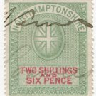 (I.B) Northamptonshire Revenue : Court Fee 2/6d