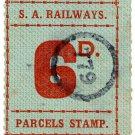(I.B) Australia - South Australia Railways : Parcel 6d