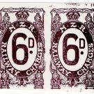 (I.B) New Zealand Railways : Railway Charges 6d (Brodie reprints)