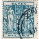 (I.B) New Zealand Revenue : Stamp Duty 7/- (postal)