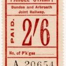 (I.B) Dundee & Arbroath Joint Railway : Parcel 2/6d