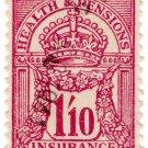 (I.B) George V Revenue : Health & Pensions Insurance 1/10d