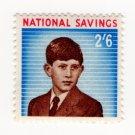 (I.B) National Savings : Prince Charles 2/6d (1960)