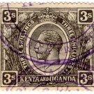 (I.B) KUT Revenue : Kenya & Uganda 3/- (East Africa Protectorate)