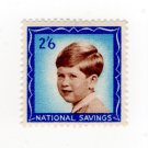 (I.B) Cinderella Collection : National Savings - Prince Charles 2/6d (1953)