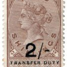 (I.B) QV Revenue : Transfer Duty 2/- (1893)