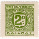 (I.B) North Staffordshire Railway : Letter 2d