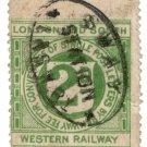 (I.B) London & South Western Railway : Letter 2d (Sway Station)