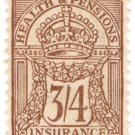 (I.B) George V Revenue : Health & Pensions Insurance 3/4d