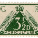(I.B) George V Revenue : Agricultural Unemployment Insurance 3½d