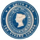 (I.B) QV Postal : Newspaper Wrapper - WH Smith & Son 2d (Advertising Ring)