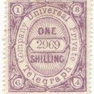 (I.B) Universal Telegraph Company : 1/- Lilac & Brown