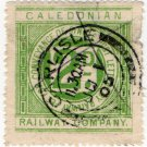 (I.B) Caledonian Railway : Letter Stamp 2d (Carlisle postal)