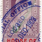 (I.B) Edward VII Revenue : House of Lords £1