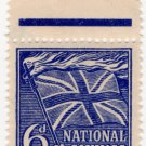 (I.B) Cinderella Collection : National Savings - Flaming Cross 6d (1944)