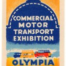 (I.B) Cinderella Collection : Commercial Motor Exhibition 1931 (Olympia)