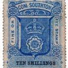 (I.B) Southampton Revenue : County Court Fees 10/-