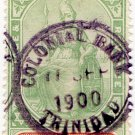 (I.B) Trinidad Revenue : Duty Stamp 5/-