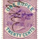(I.B) Ceylon Revenue : Foreign Bill 1R 20c