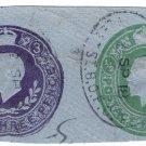 (I.B) George V Postal : Embossed Die 3½d