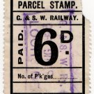 (I.B) Glasgow & South Western Railway : Parcel 6d (Lochside)