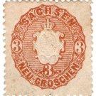 (I.B) Germany Local Post : Saxony 3gr