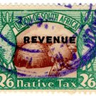 (I.B) South Africa Revenue : Native Tax 2/6d (English)
