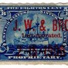 (I.B) US Revenue : Proprietary 5/8c (JW & Bro Inc)