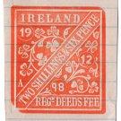 (I.B) QV Revenue : Ireland Registration of Deeds 2/6d (impressed duty)