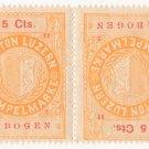 (I.B) Switzerland Revenue : Luzern Stempelmarke 5c