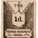 (I.B) Cambrian Railways : Newspaper Parcel 1d