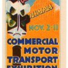 (I.B) Cinderella Collection : Commercial Motor Exhibition 1933 (Olympia)