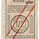 (I.B) Midland Great Western Railway (Ireland) : Parcel 1/2d