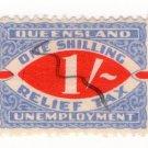 (I.B) Australia - Queensland Revenue : Relief Tax 1/-