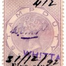 (I.B) Ceylon Revenue : Stamp Duty 5c on 10c OP