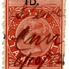 (I.B) Fiji Revenue : Stamp Duty 1d