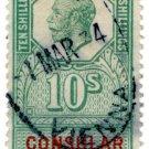 (I.B) George V Revenue : Consular Service 10/- (Vienna)