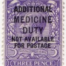 (I.B) George V Revenue : Additional Medicine Duty 3d