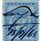 (I.B) Jamaica Revenue : Customs 1½d