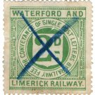 (I.B) Waterford & Limerick Railway : Letter Stamp 2d