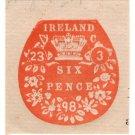 (I.B) QV Revenue : Ireland Impressed Duty 6d