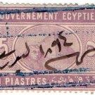 (I.B) Egypt Revenue : Duty Stamp 5pi