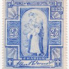 (I.B) Cinderella Collection : Prince of Wales Hospital Fund 2/6d (1898)