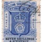 (I.B) Southampton Revenue : County Court Fees 7/6d