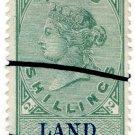 (I.B) QV Revenue : Land Registry 2/- (1881)